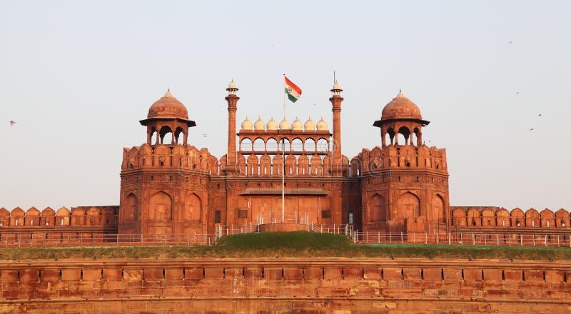 Rood Fort van Delhi royalty-vrije stock fotografie