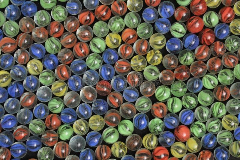 Rood Geelgroen en Blauw Marmer - Beeld 2 stock fotografie
