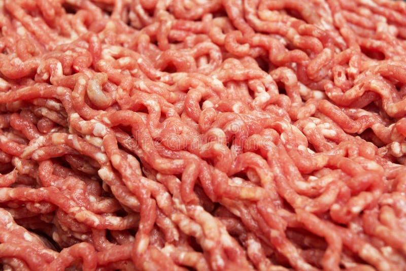 Rood gehakt, vleesvoedsel royalty-vrije stock afbeeldingen