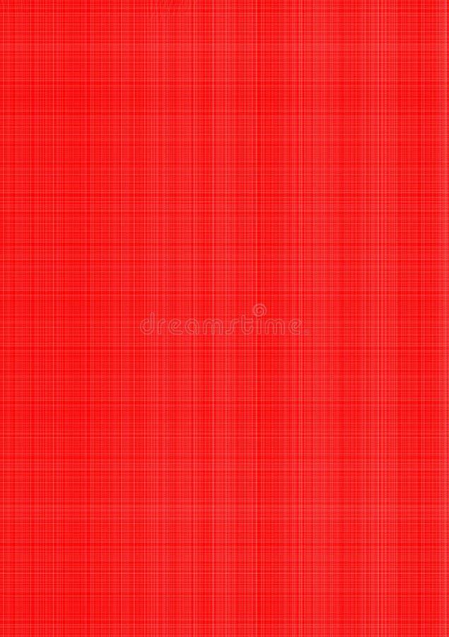 Rood gekleed geweven behang als achtergrond stock illustratie