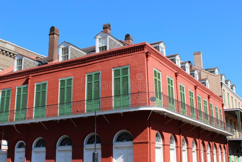 Rood huis royalty-vrije stock foto