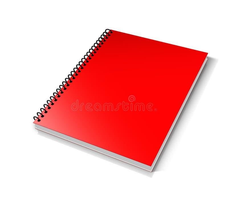 Rood, Notitieboekje, Productontwerp, Merk stock afbeeldingen