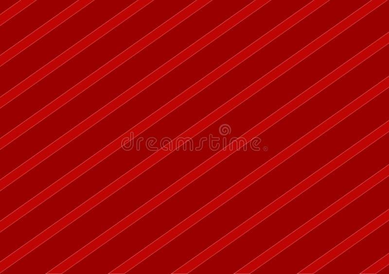 Rood schaduwen diagonaal gestreept ontwerp als achtergrond vector illustratie