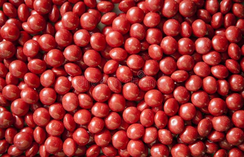 Rood Suikergoed royalty-vrije stock foto's
