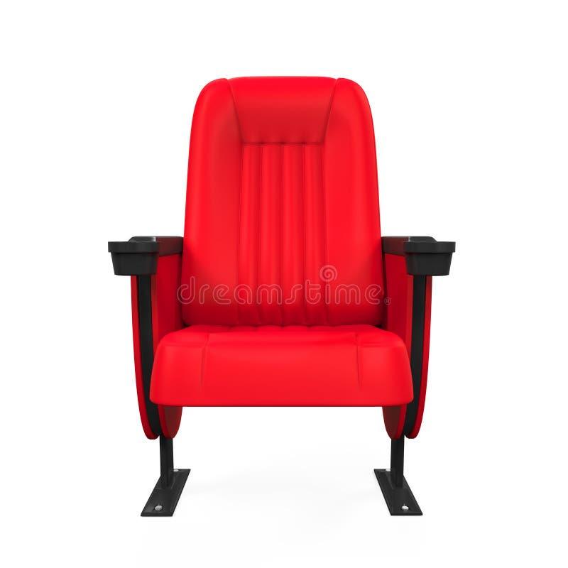 Rood Theater Seat vector illustratie