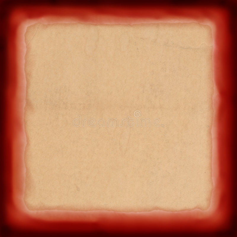 Rood uitstekend frame stock foto's