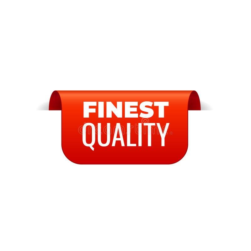 Rood Vectorbannerlint op witte achtergrond, hoogste referentie, fijnste kwaliteit stock illustratie