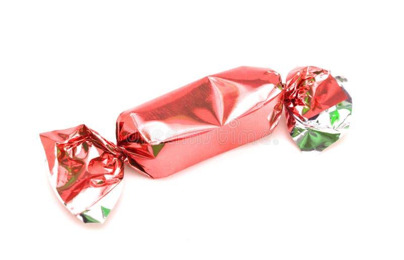 Rood Verpakt Suikergoed royalty-vrije stock foto's