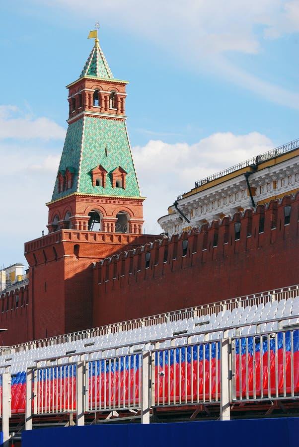 Rood Vierkant, Moskou stock foto