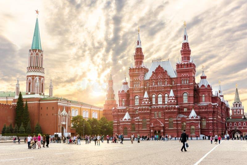 Rood Vierkant in Moskou royalty-vrije stock foto's