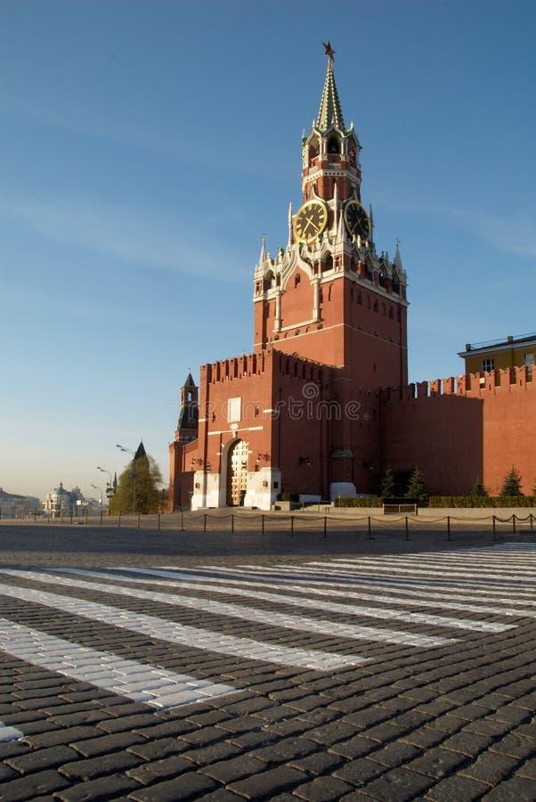 Rood vierkant in Moskou, Rusland stock afbeelding