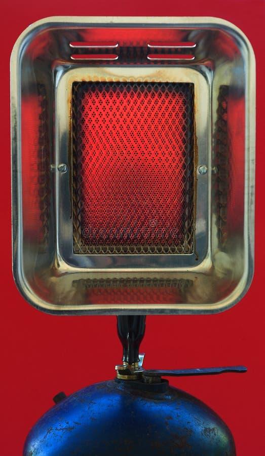 Roodgloeiende de verwarmer van het gas royalty-vrije stock afbeeldingen