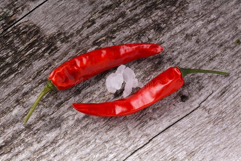 Roodgloeiende peper royalty-vrije stock afbeelding