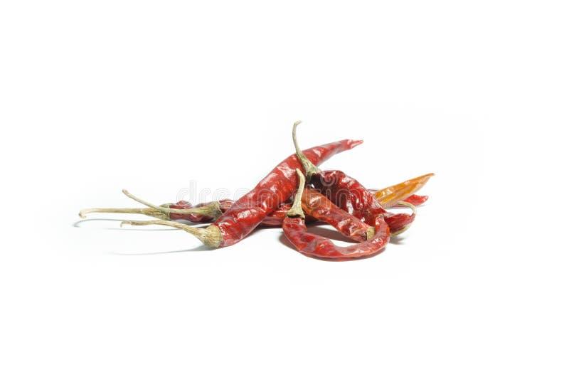 Roodgloeiende Spaanse peperpeper stock foto's