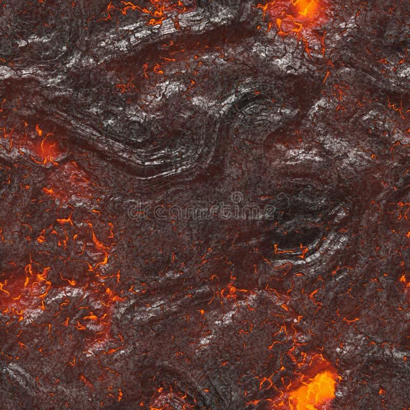 Download Roodgloeiende Vloeibare Textuur Stock Illustratie - Illustratie bestaande uit illustratie, vuil: 107703256
