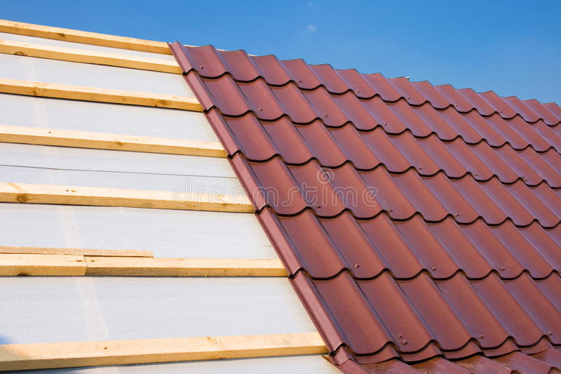 Download Roof stock image. Image of design, estate, clear, industrial - 10747749