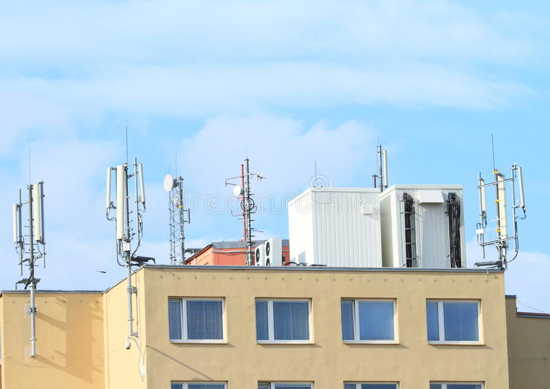 Roof With Antennas
