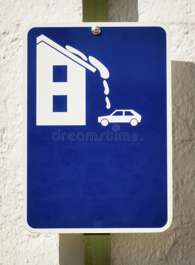 Download Roof avalanche stock image. Image of white, single, symbol - 35141981
