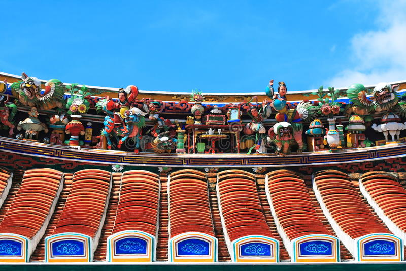 Download Roof of Buddhism Temple stock photo. Image of temple - 14590548