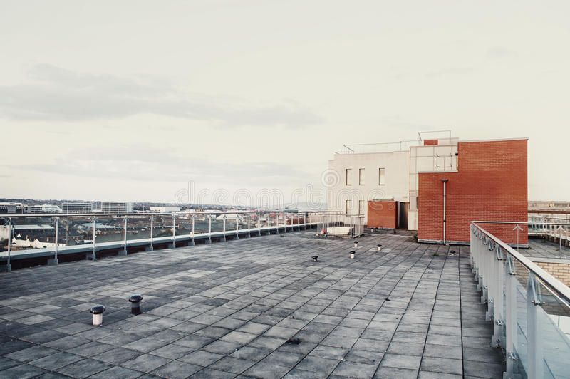 Roof of Building royalty free stock image