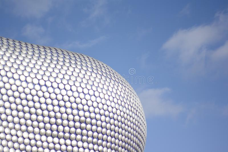 Roof from Bullring in Birmingham, United Kingdom. A detail from the roof from the Bullring Centre in Birmingham, United Kingdom stock photos