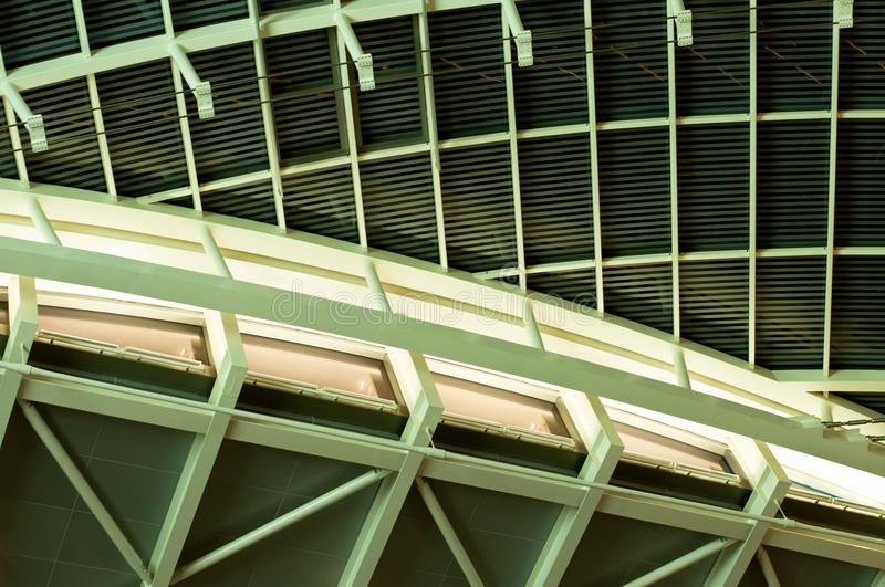 Roof and Ceiling Abstract stock photo