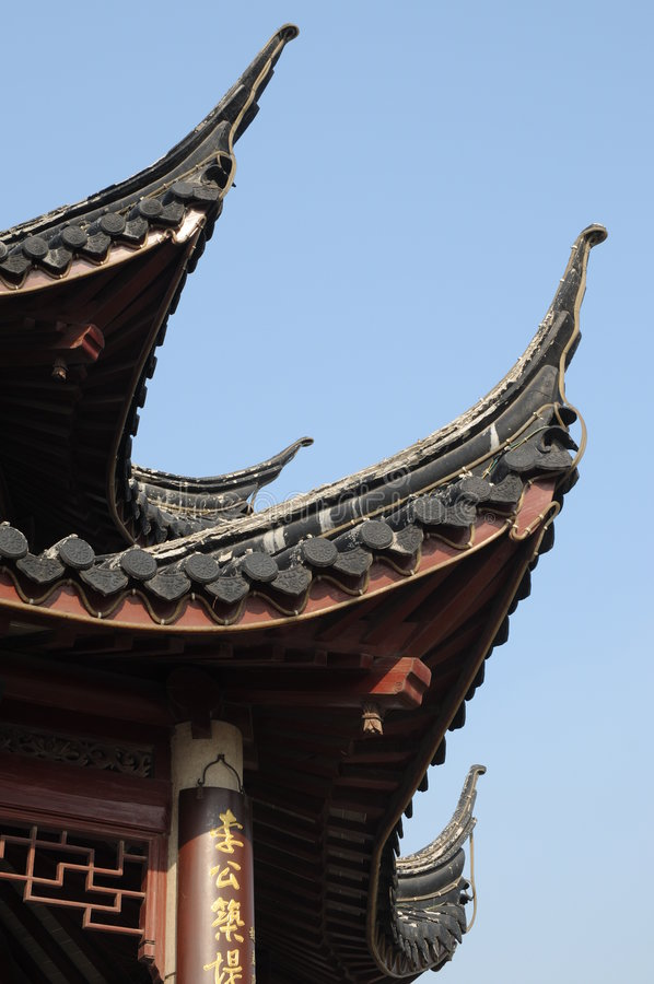 Download Roof of Chinese pagoda stock photo. Image of temple, architecture - 7270704