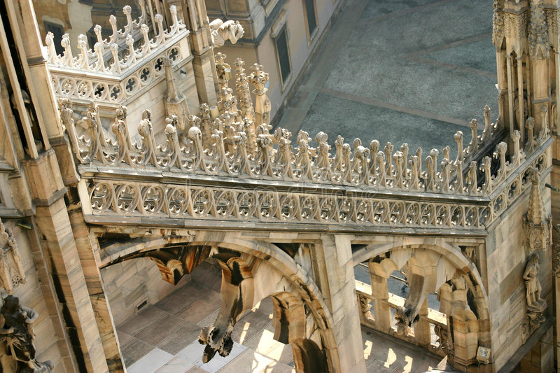 Download Roof detail stock photo. Image of statues, church, italy - 77812