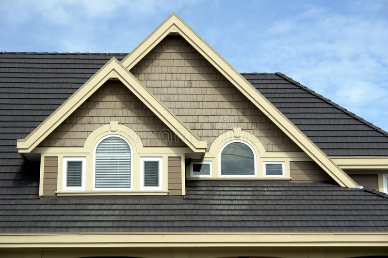 Download Roof Details stock image. Image of home, gables, property - 2216283