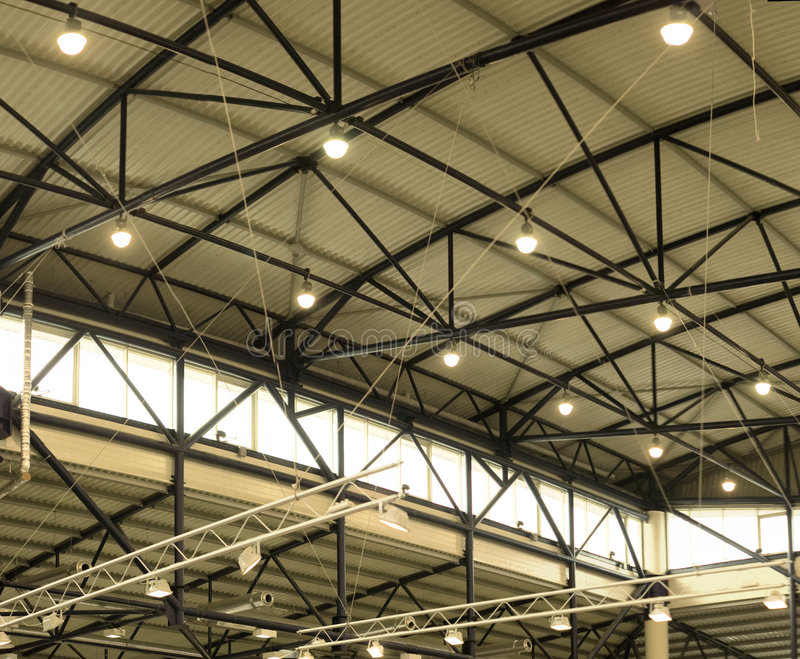 Download Roof of exhibition hall stock photo. Image of business - 4870458