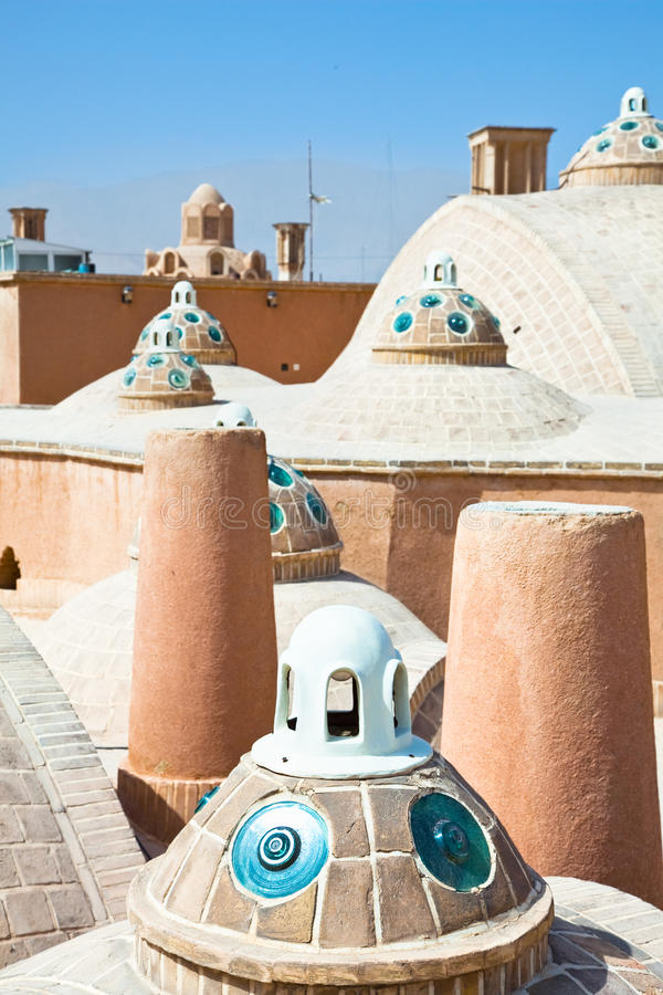 Download Roof Of  Hammam ,  Kashan , Iran Stock Photo - Image: 26848070