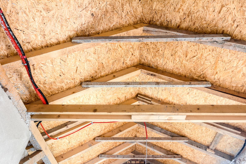 Download Roof Insulation Stock Photo. Image Of Lagging, Inside   36607380