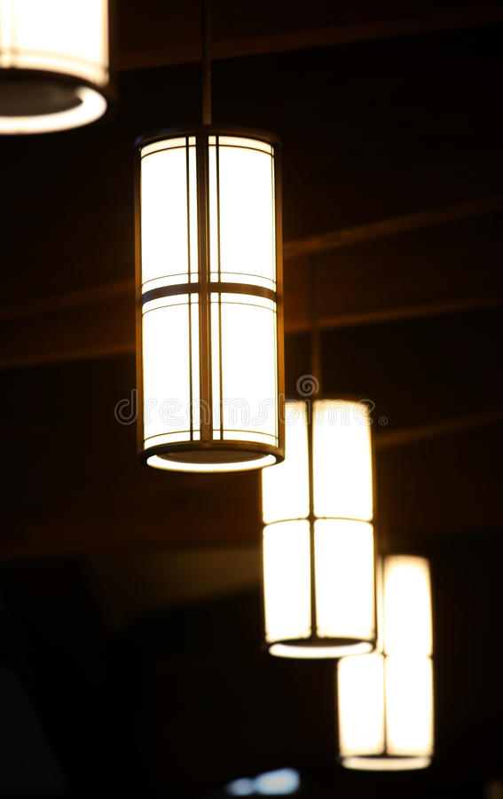Roof lamps royalty free stock photography