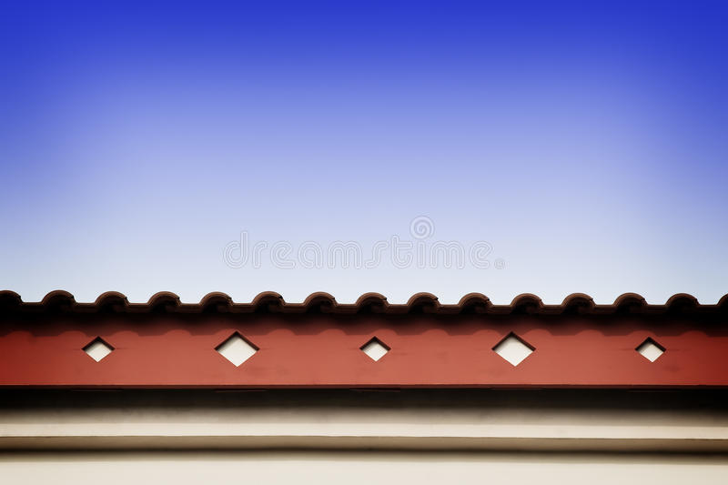 Download Roof Line With Fascia Stock Image - Image: 17149041