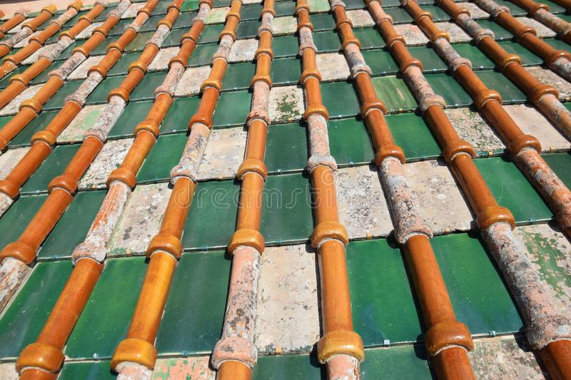 Roof, Metal, Material, Outdoor Structure stock photo
