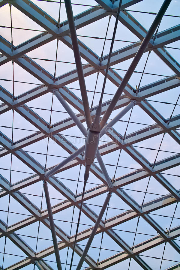 Roof of modern architecture royalty free stock photos