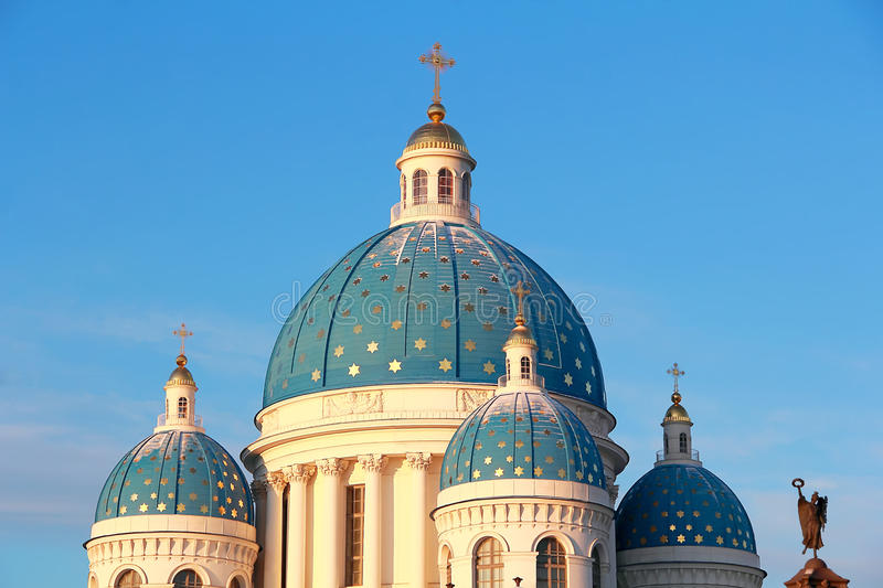 Download Roof Of Orthodoxy Church In Petersburg Stock Photo - Image: 25406728