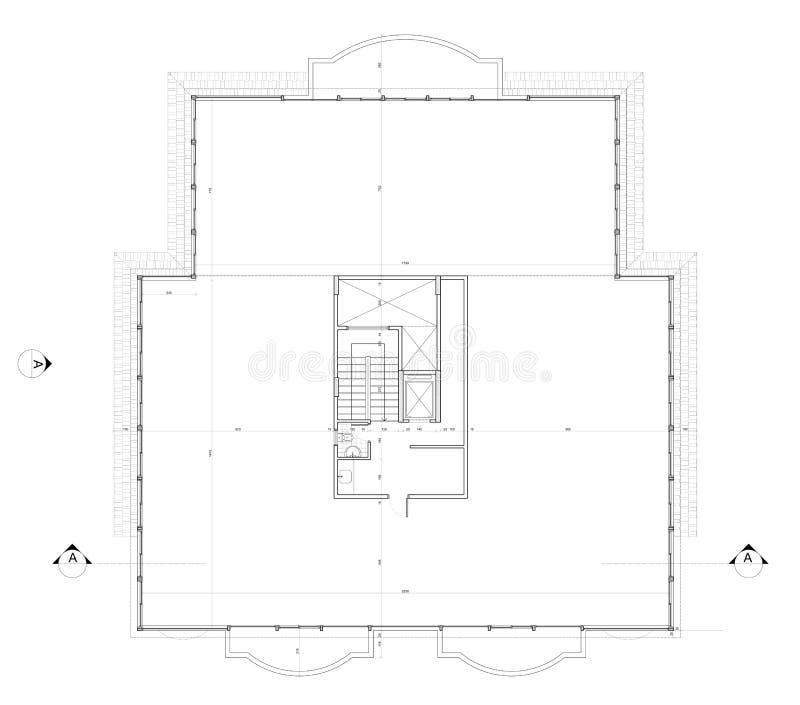 Roof Plan stock photos