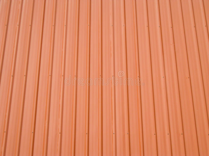 The roof. The red roof by my room stock photo