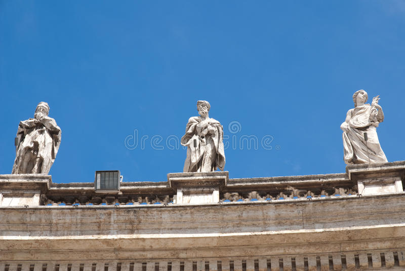 Roof Sculpture Royalty Free Stock Photo