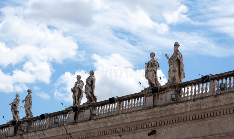 Download Roof Sculpture stock photo. Image of outdoor, rome, religion - 10413868