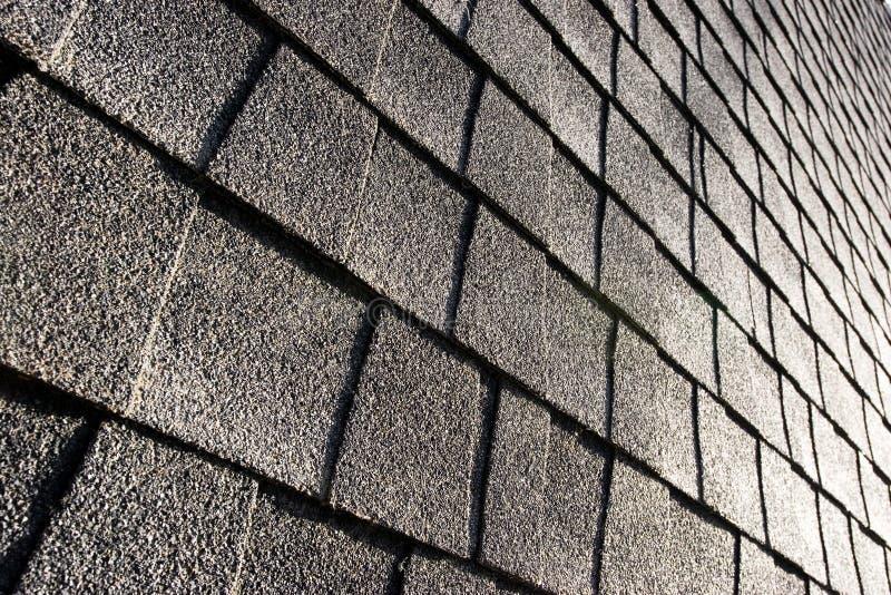 Roof shingles royalty free stock photo