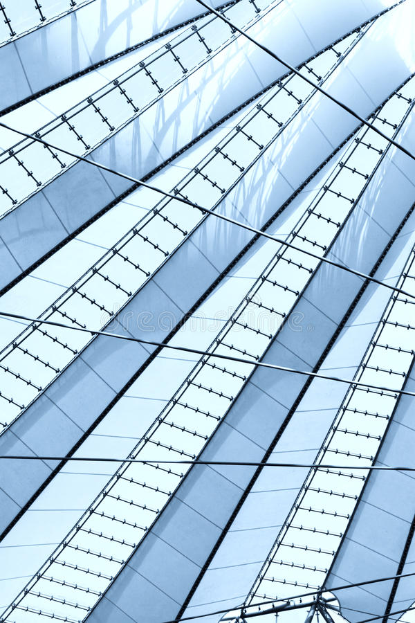 Download The Roof Of The Sony-Center Stock Image - Image: 20003741