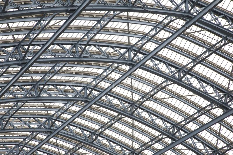 Roof of St Pancras Railway Station