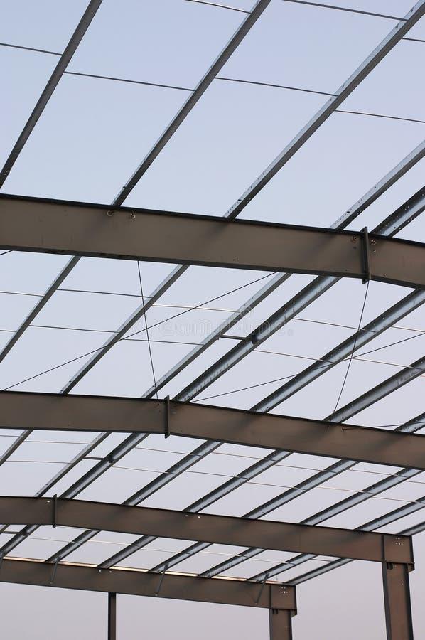 roof steel στοκ εικόνες