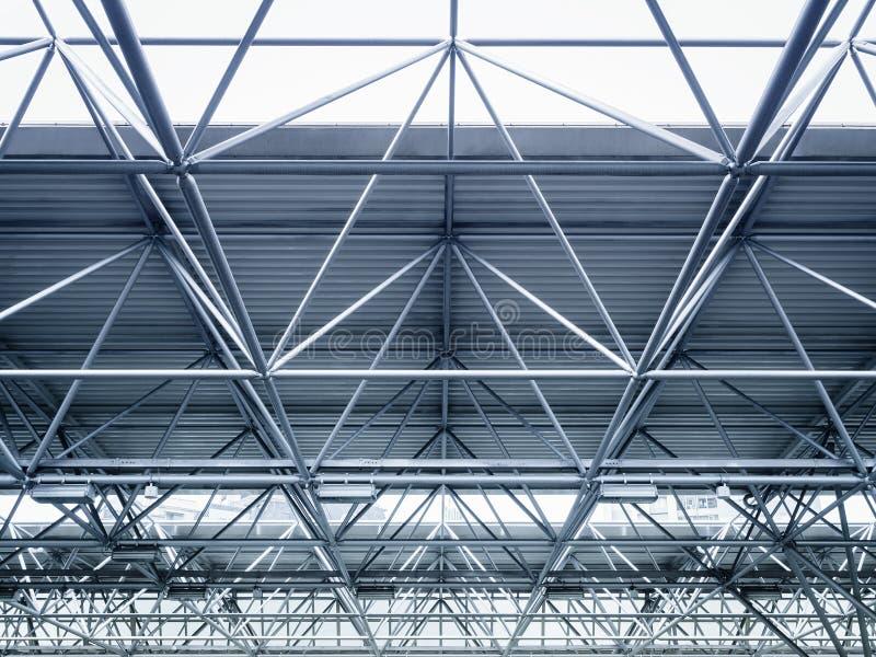 Modern Architecture Detail roof steel construction modern architecture detail stock photo