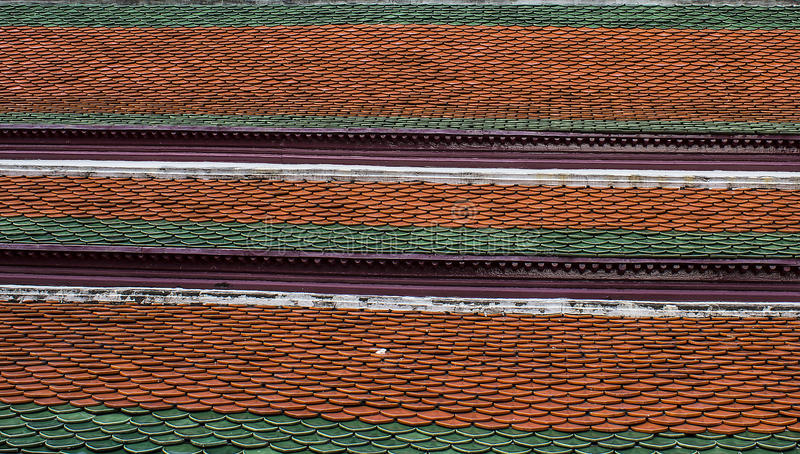 Roof temples wat-phra-kaew stock photos