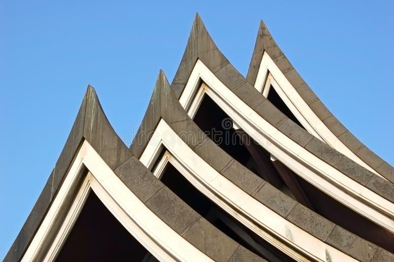 roof thai arkivbild