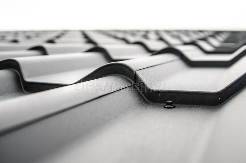 Roof tile abstract stock photos