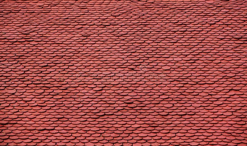 Roof Tile Pattern royalty free stock photos